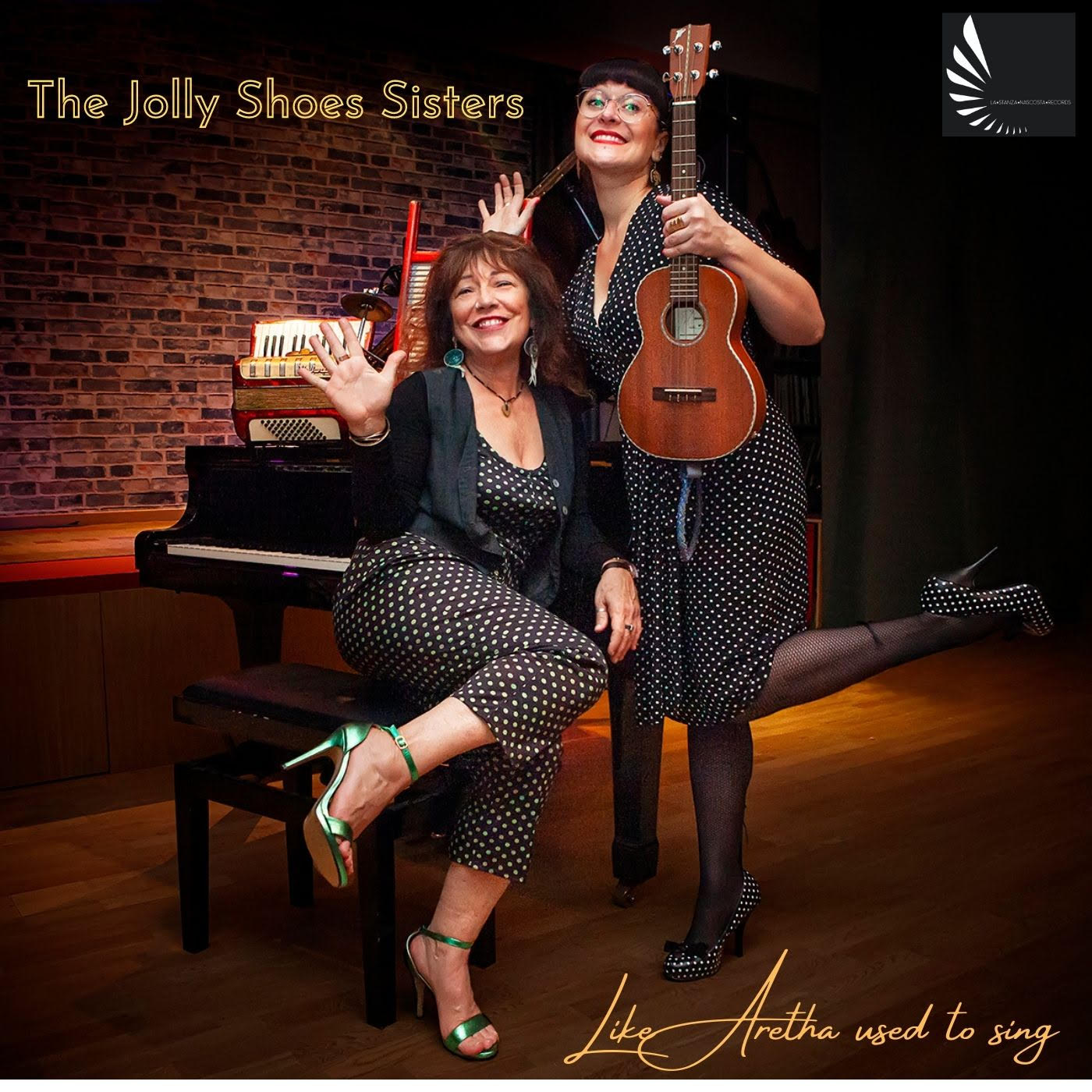 Laura Fedele eVeronica Sbergia, akaThe Jolly Shoes Sisters